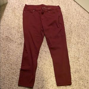 Red Jeggings!